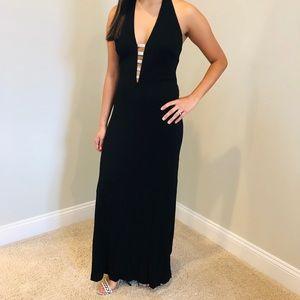 Dresses & Skirts - Black & Diamond Formal Dress